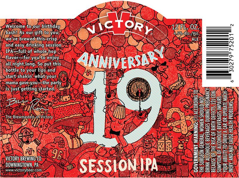 Victory Anniversary 19 Session IPA