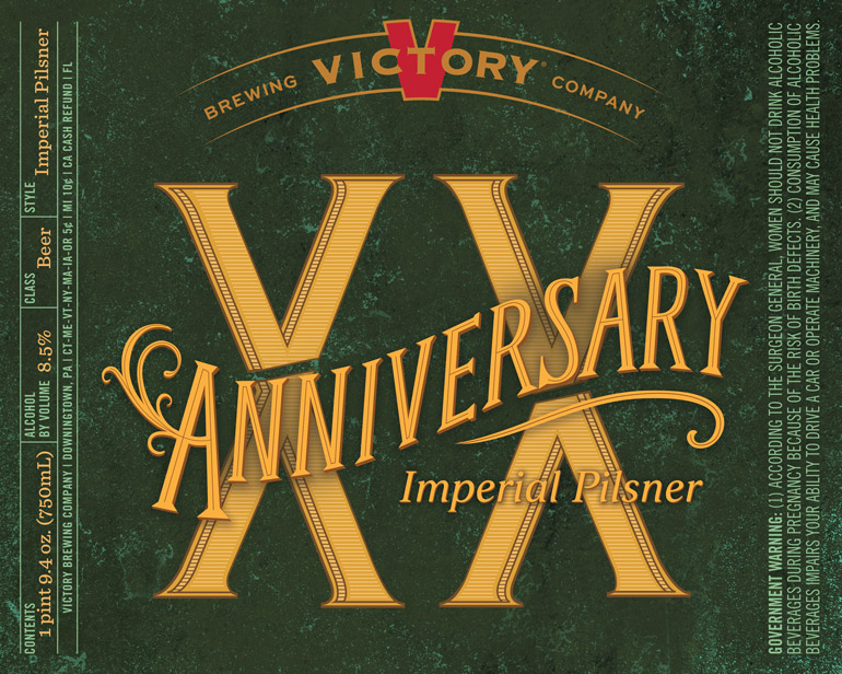 Victory Anniversary XX Imperial Pilsner