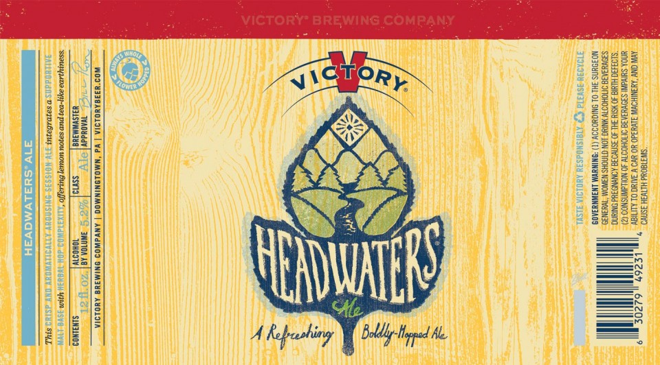 Victory Brewing Headwaters Ale Cans