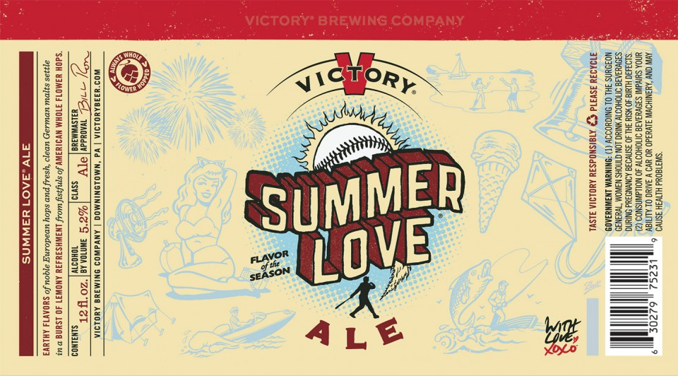 Victory Summer Love Cans