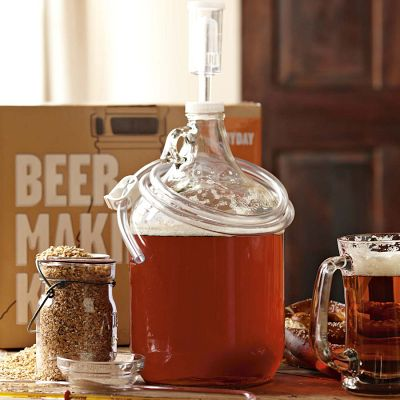 Williams sonoma offers home brew kits beer street journal for Home brew craft beer