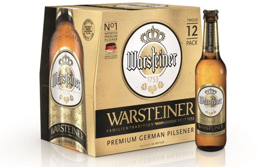 Warsteiner USA New Packaging