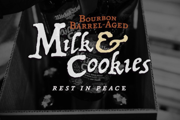 Wicked Weed Bourbon Barrel Aged Milk & Cookies RIP