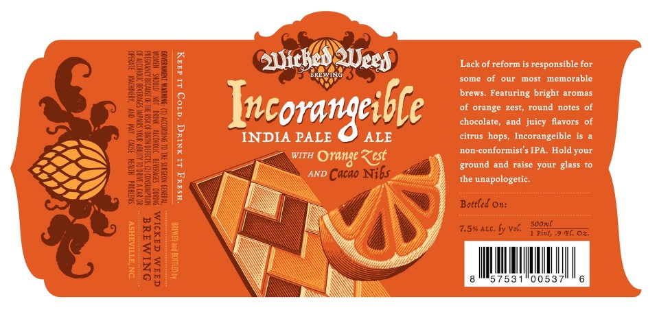Wicked Weed Incorangeible