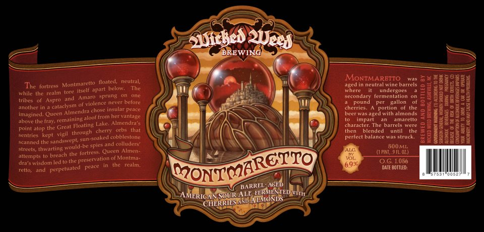 Wicked Weed Montmaretto 2016