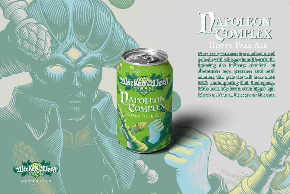 Wicked Weed Napoleon Complex cans