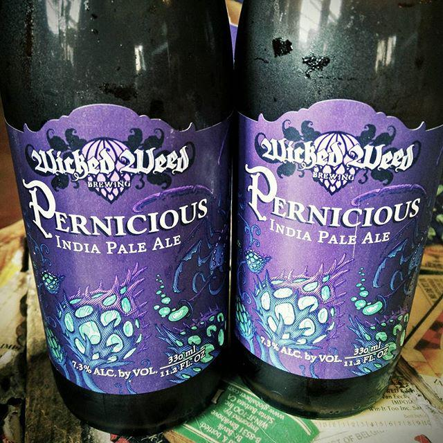 Wicked Weed Pernicious Bottles