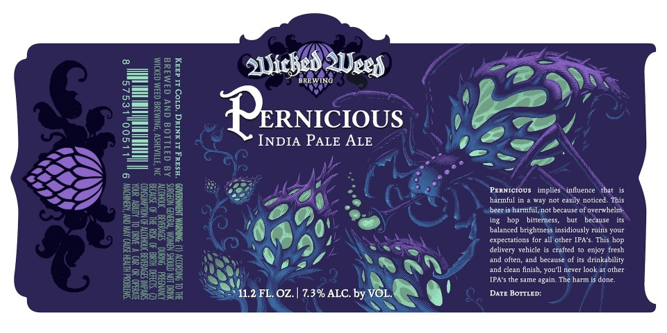 Wicked Weed Pernicious India Pale Ale
