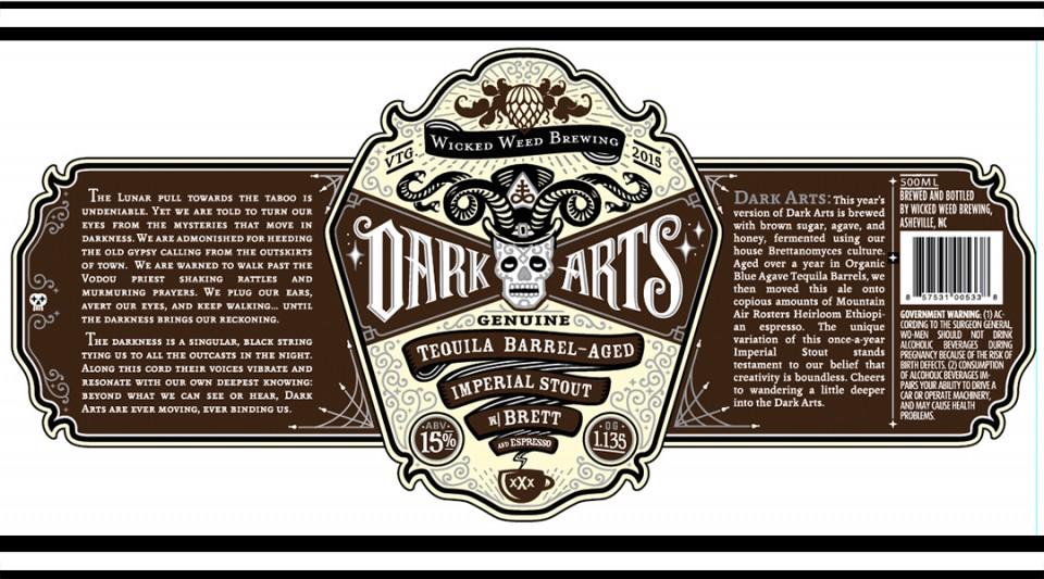 Wicked Weed Tequila Espresso Barrel-Aged Dark Arts