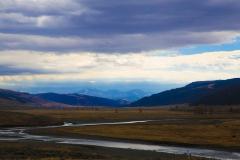 You front yard view. Livington, Montana