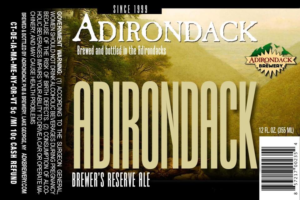 Adirondack Brewer's Reserve Ale