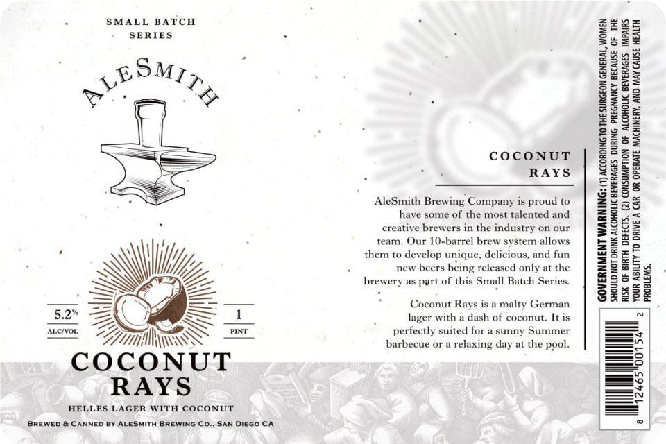 AleSmith Coconut Rays