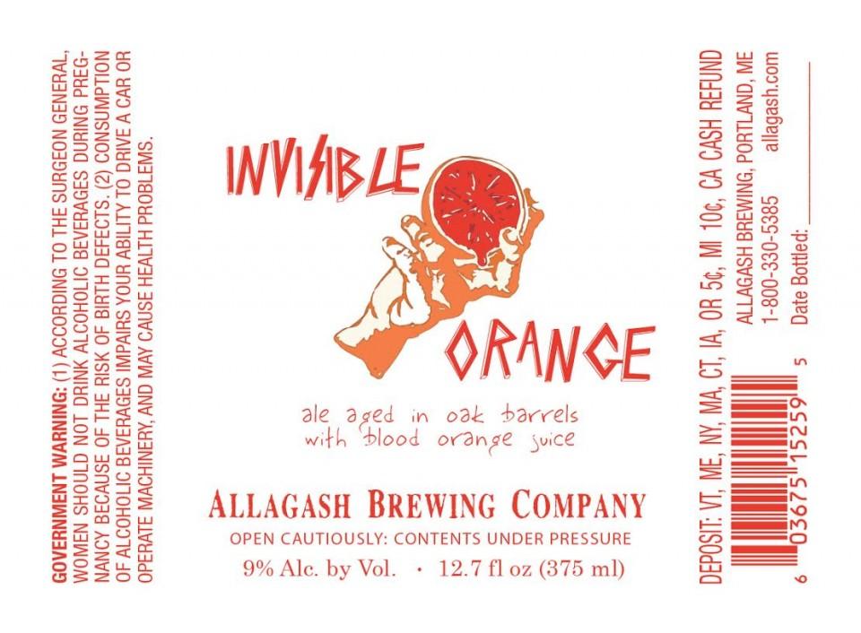 Allagash Invisible Orange