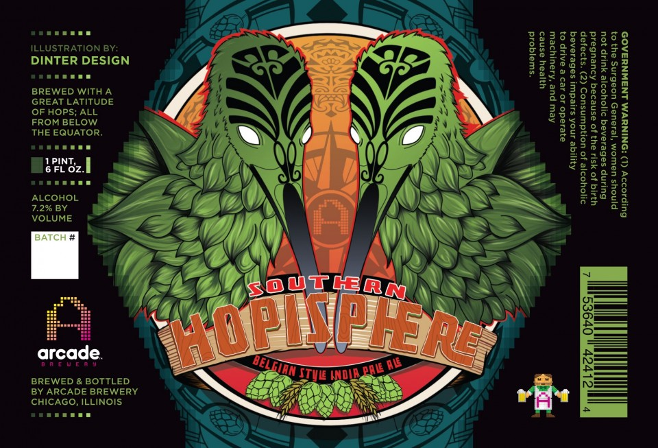 Arcade Brewery Southern Hopisphere