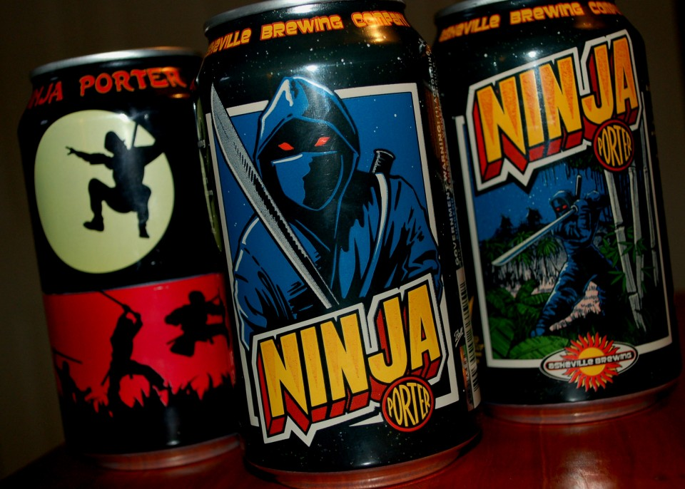 Asheville Ninja Porter 2015