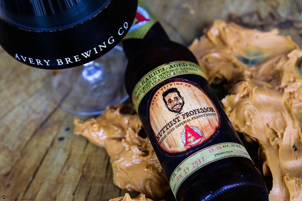 Avery Nuttiest Professor bottle