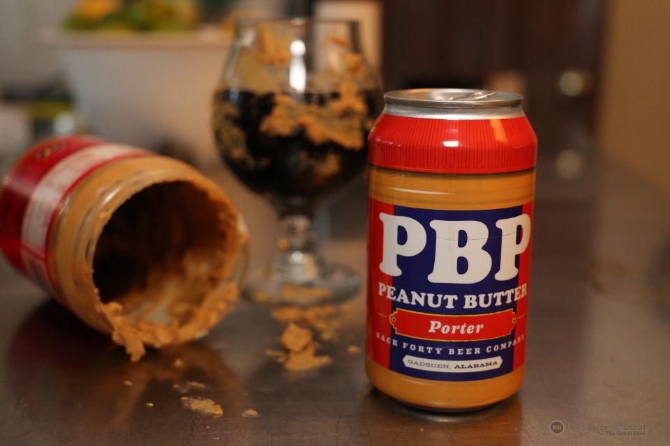 Back Forty Peanut Butter Porter