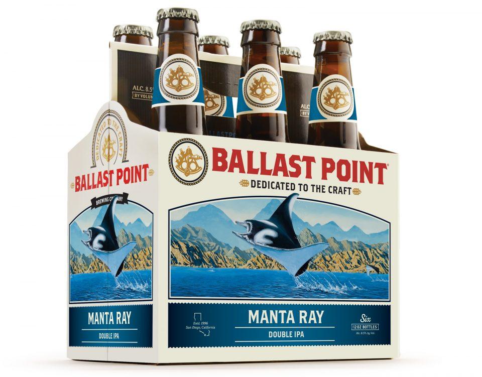 Ballast Point Manta Ray 6pack