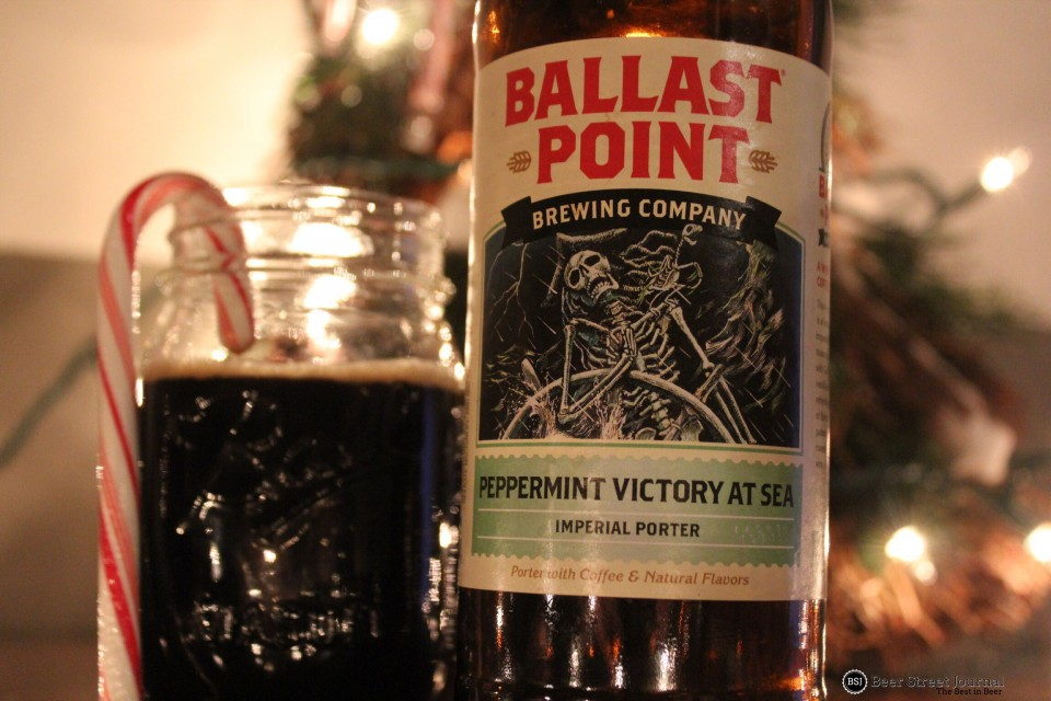 Ballast Point Peppermint Victory at Sea bottle