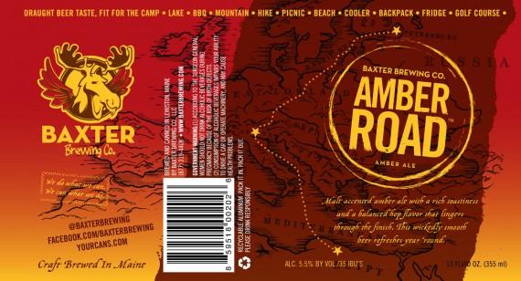 Baxter Brewing Amber Road
