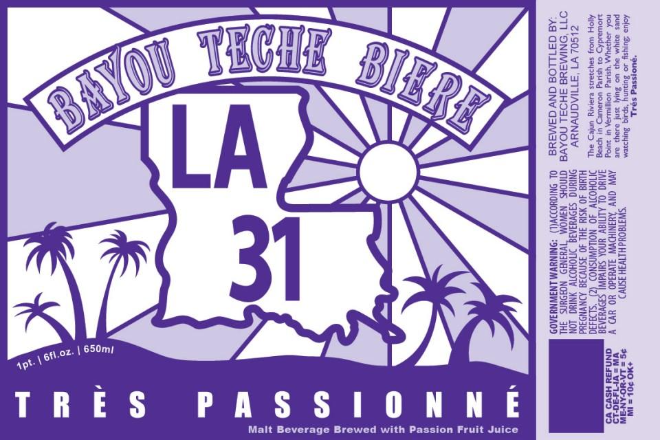 Bayou Teche Tres Passionne