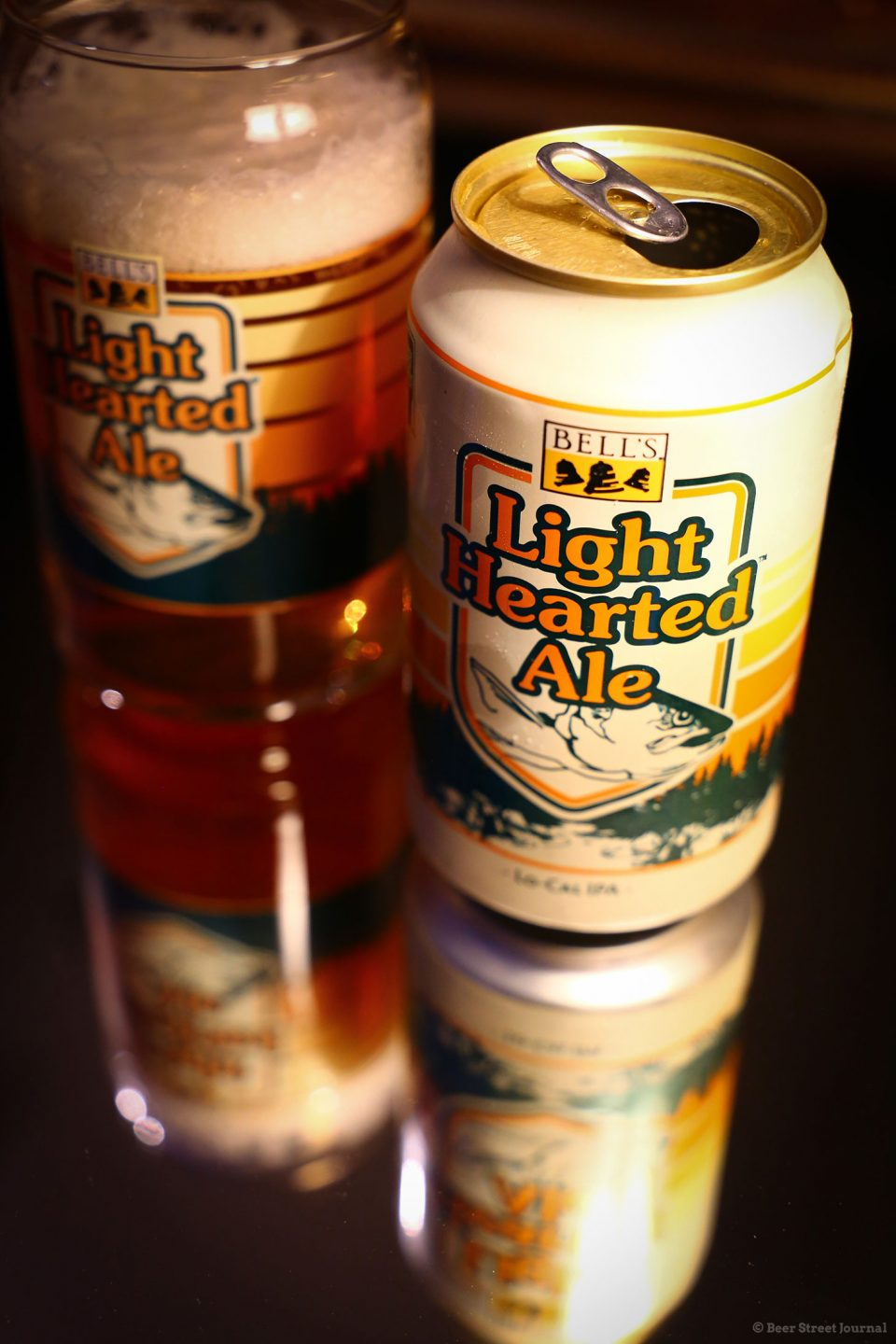 Bell's Light Hearted Ale Cans