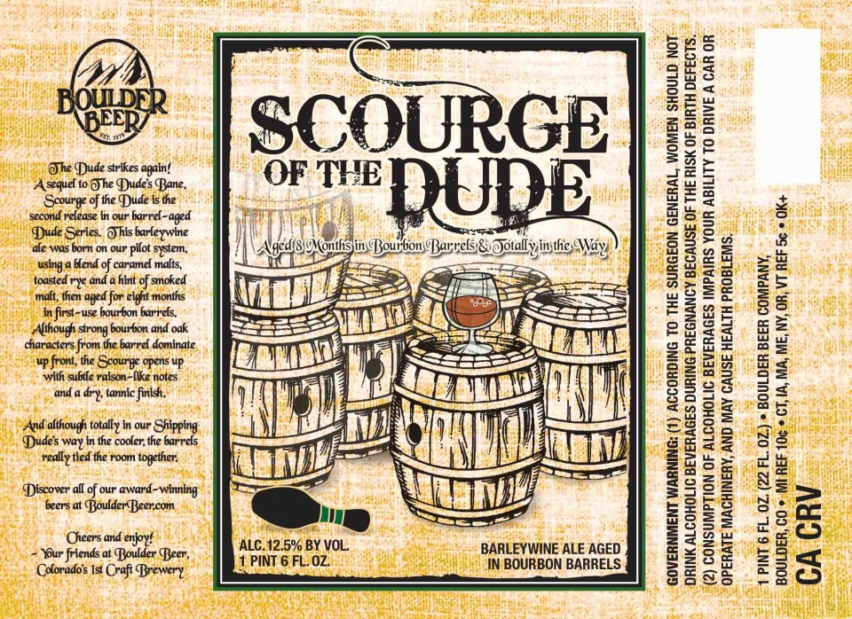 Boulder Beer Scourge of the Dude