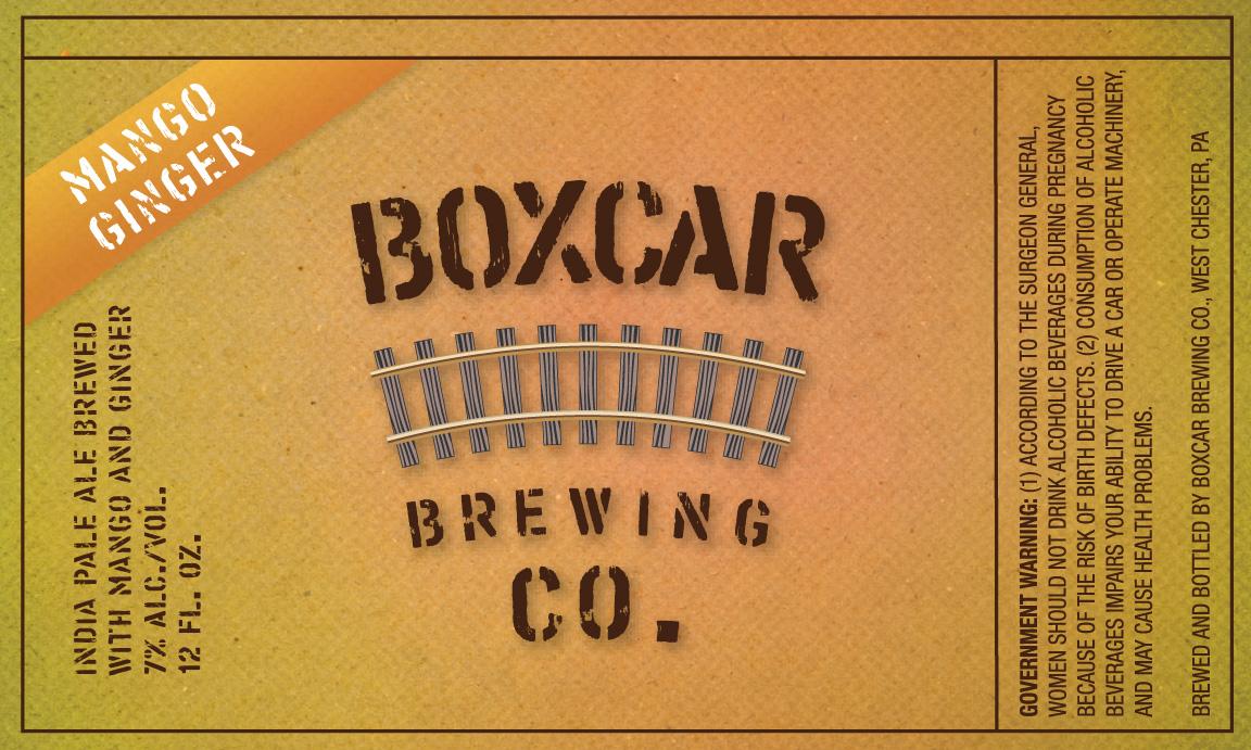Boxcar Brewing Mango Ginger - Beer Street Journal