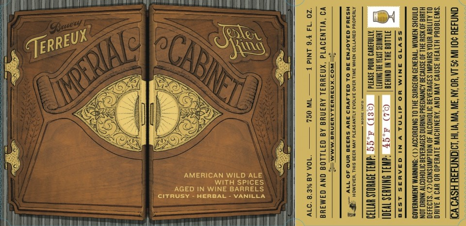 Bruery Terreux Imperial Cabinet
