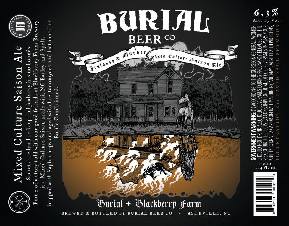 Burial Beer Jealous & Murder