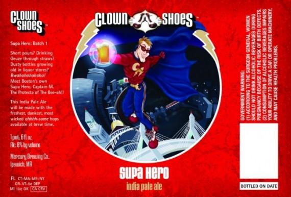 Clown Shoes Brewing Supa Hero