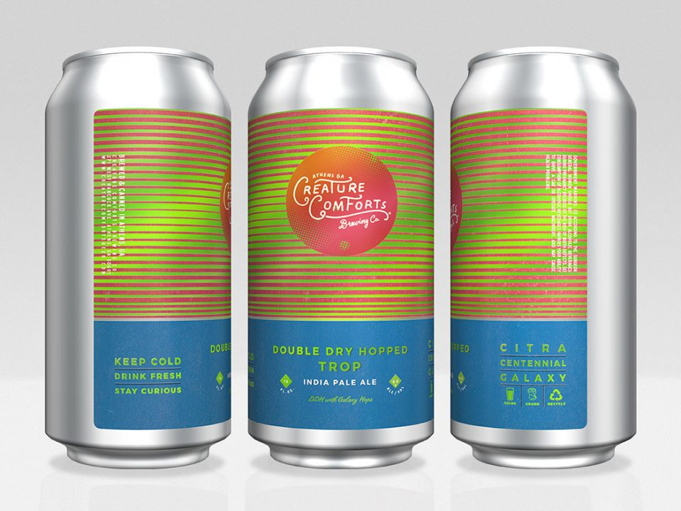 Creature Comforts Double Dry Hopped Trop