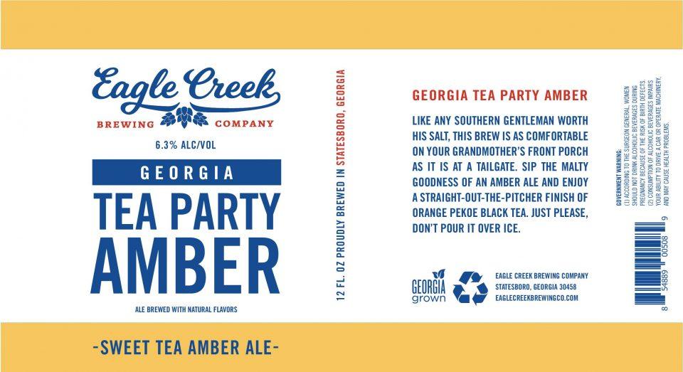Eagle Creek Georgia Tea Party Amber Ale