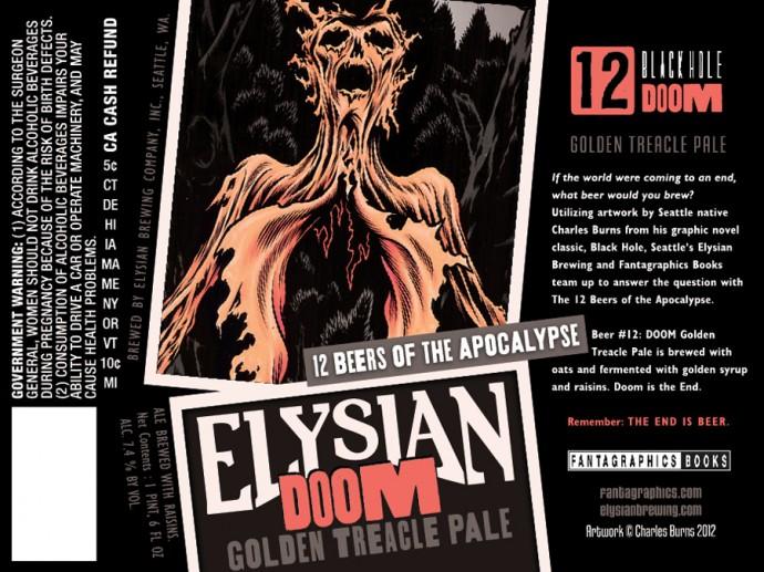 Elysian Doom Golden Treacle Pale Ale