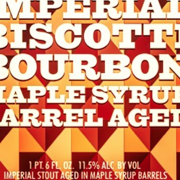 Evil Twin Bourbon Maple Syrup Barrel Aged Imperial Biscotti Break