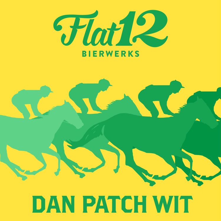 Flat 12 Dan Patch Wit