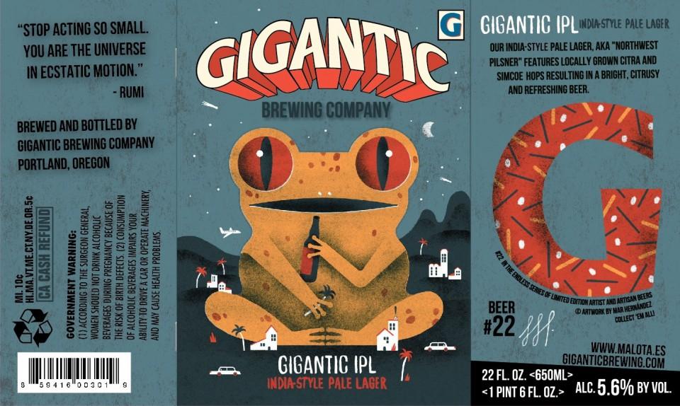 Gigantic Brewing Gigantic IPL