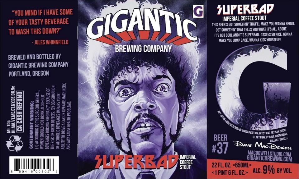 Gigantic Brewing Superbad