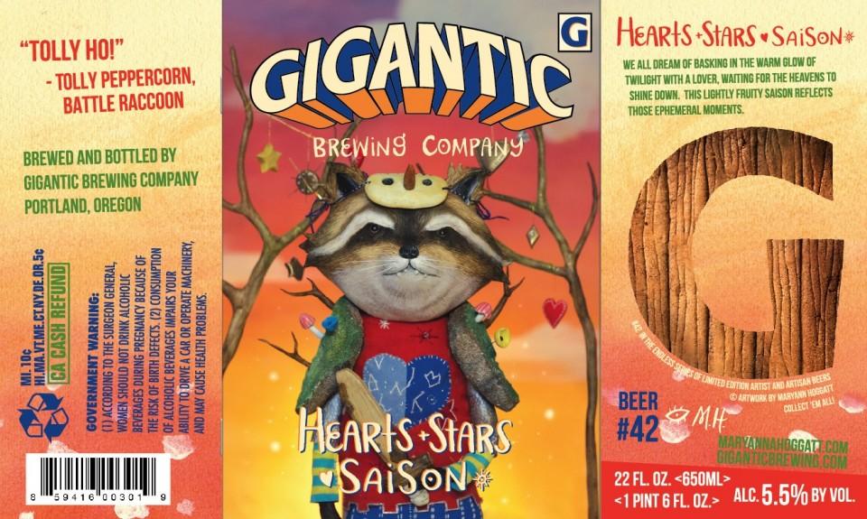 Gigantic Hearts & Stars Saison