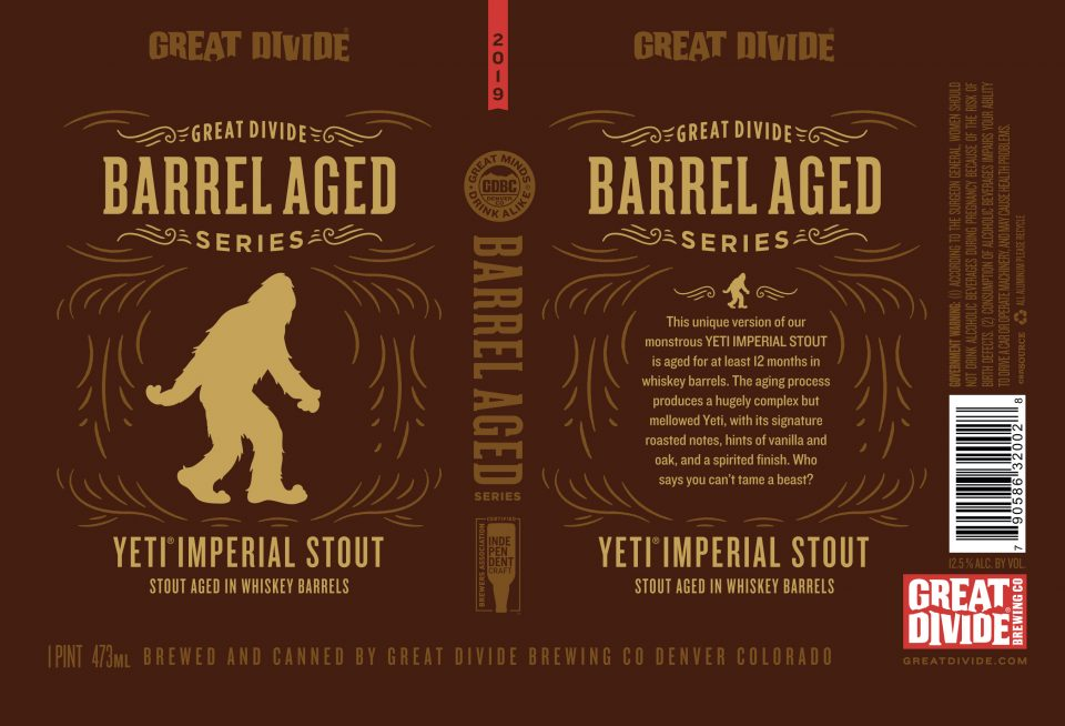 Great Divide Barrel Aged Yeti Imperial Stout
