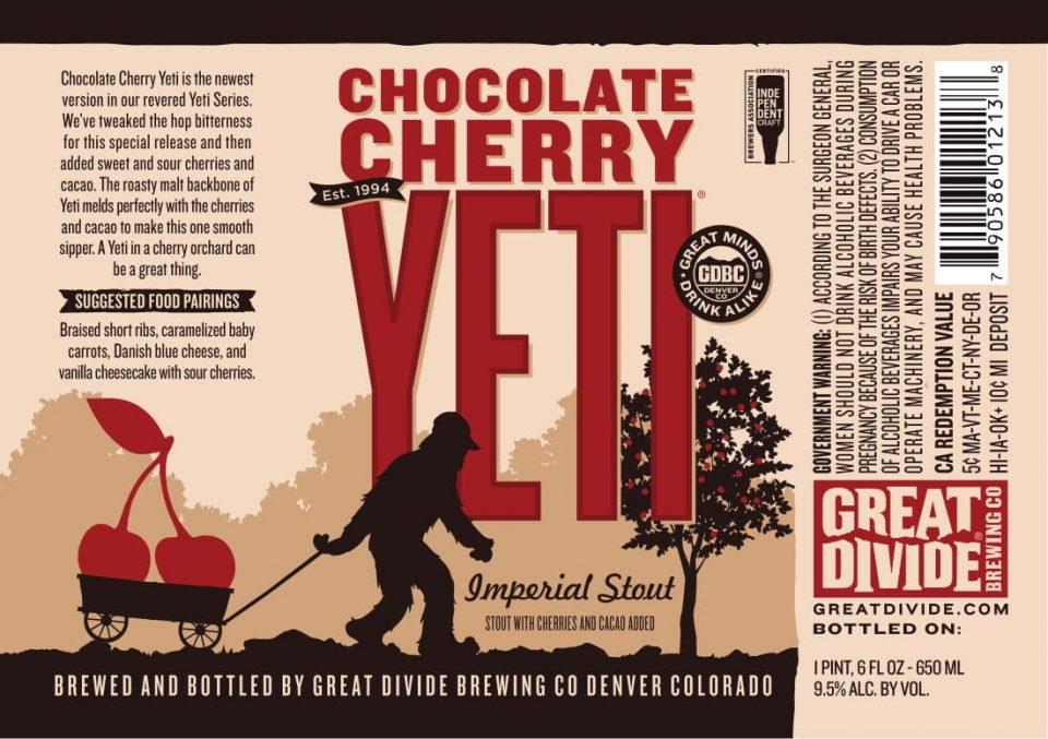 Great Divide Chocolate Cherry Yeti