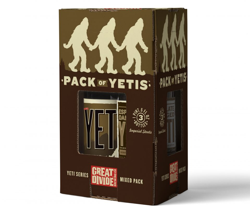 Great Divide Yeti 3 Pack