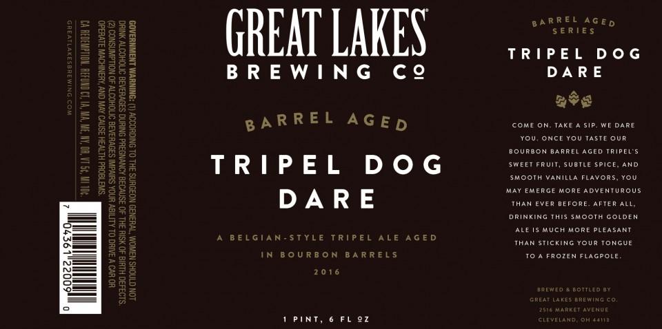 Great Lakes Barrel Aged Tripel Dog Dare