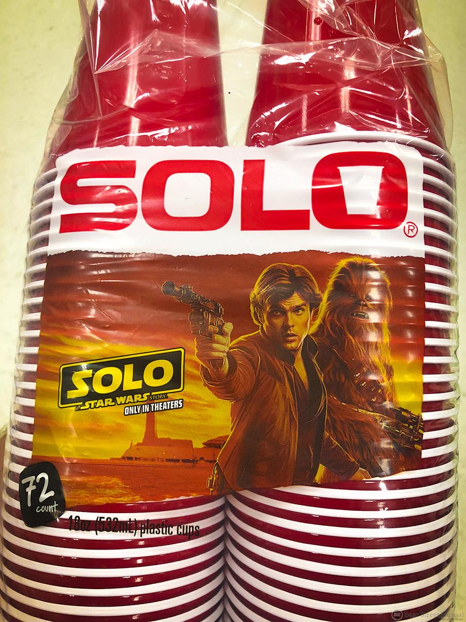 Han Solo Cups