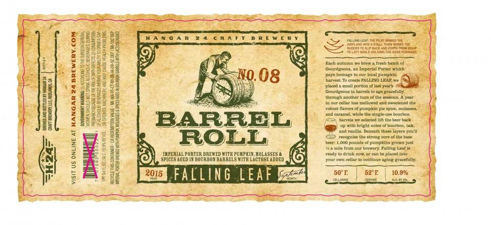 Hangar 24 Barrel Roll Falling Leaf