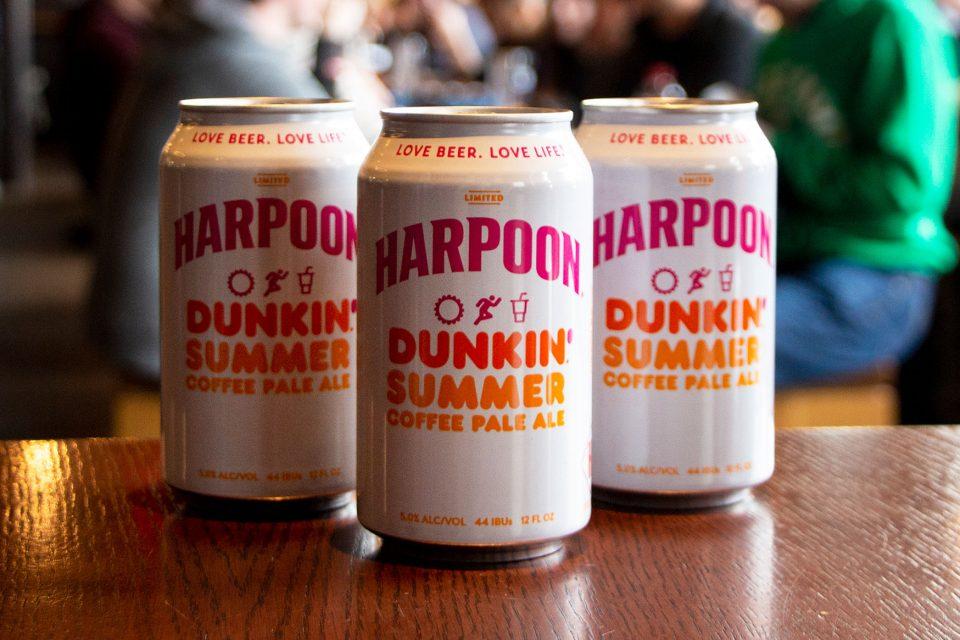 Harpoon Dunkin' Summer Coffee Pale Ale
