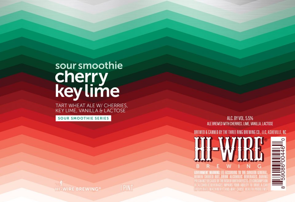 Hi-Wire Sour Smoothie Cherry Key Lime