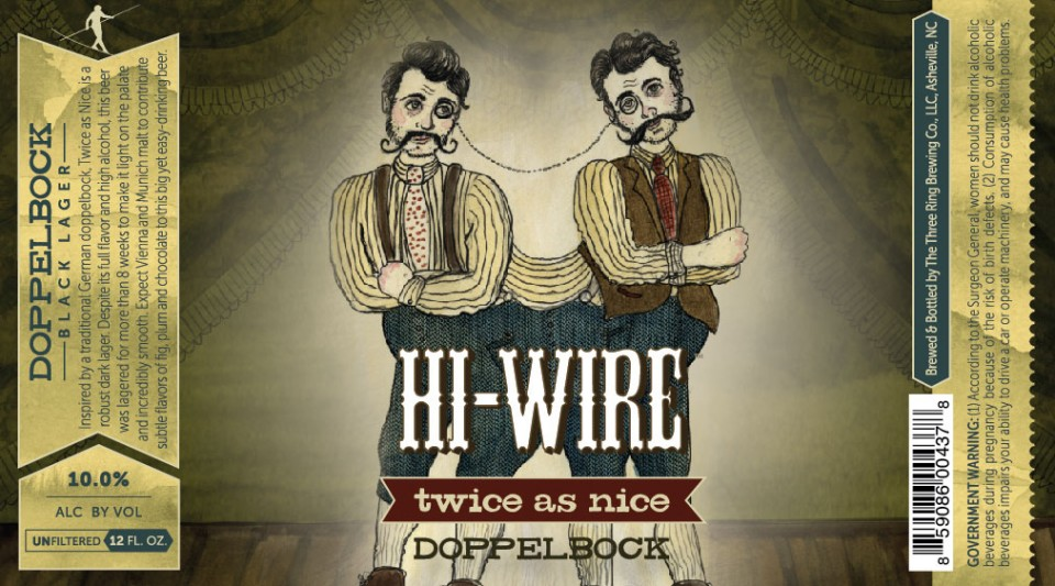 Hi-Wire Twice As Nice Doppelbock