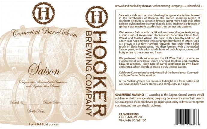 Hooker Brewing Company Saison