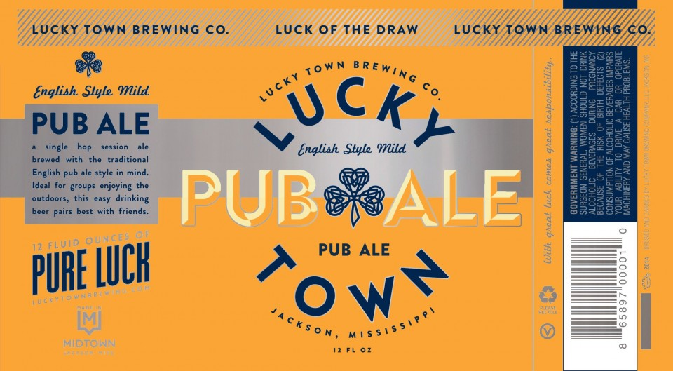 Lucky Town Pub Ale Cans